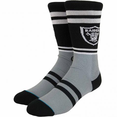 Stance Socken NFL Raiders Logo schwarz