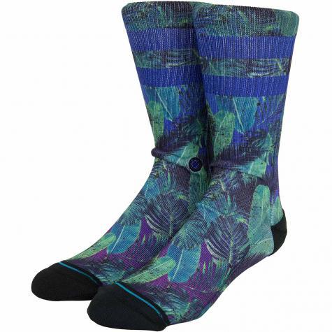 Stance Socken Pop Palms blau/grün