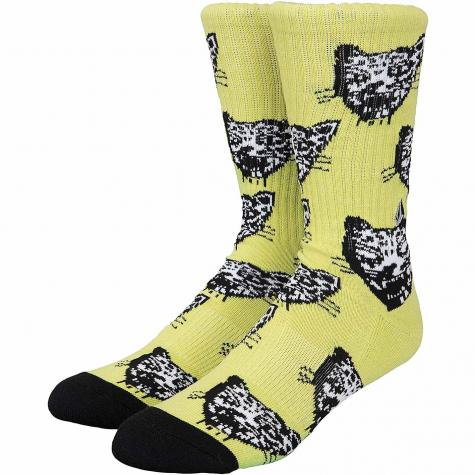 Volcom Socken Ozzie gelb