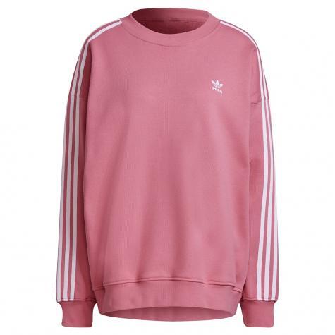 Adidas Oversized Damen Sweatshirt rosa