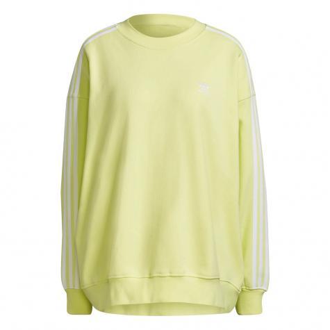 Adidas Oversized Damen Sweatshirt gelb