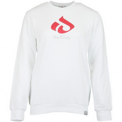 Iriedaily Damen Sweatshirt Glyph weiß