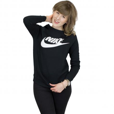 Nike Damen Sweatshirt Rally Crew GX1 schwarz/weiß
