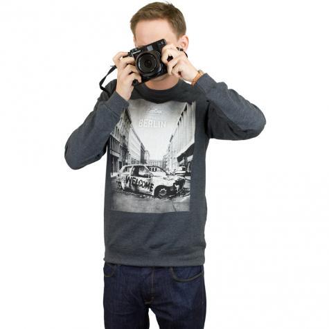 Iriedaily Sweatshirt Greetings  dunkelgrau