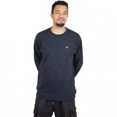 Iriedaily Sweatshirt Injection dunkelblau/gelb