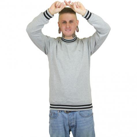 Iriedaily Sweatshirt Kurtis grau meliert
