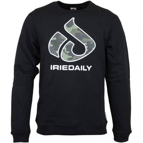 Iriedaily Sweatshirt Original Glyph schwarz