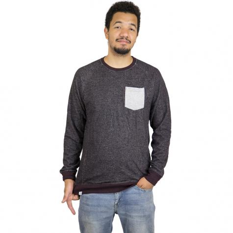 Reell Sweatshirt Pocket graurot