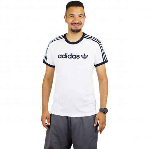 Adidas Originals T-Shirt Linear weiß