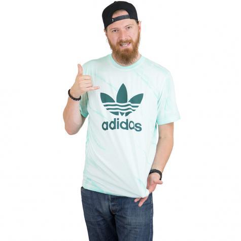 Adidas Originals T-Shirt Tie Dye mint