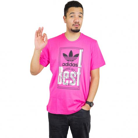 Adidas Originals T-Shirt Tongue Label pink