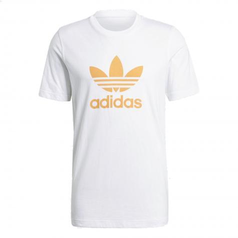 Adidas Trefoil T-Shirt weiß/orange