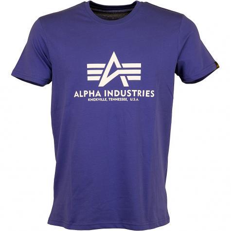 Alpha Industries T-Shirt Basic nautic blue