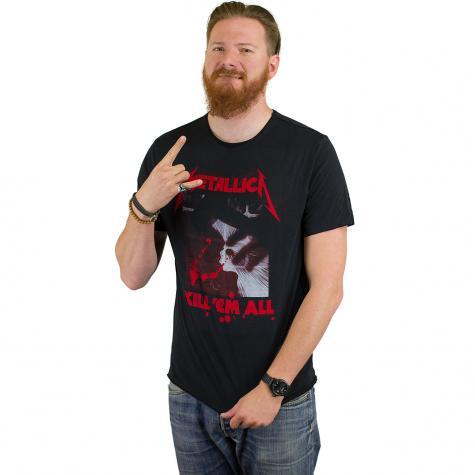 Amplified T-Shirt Metallica kill em all schwarz