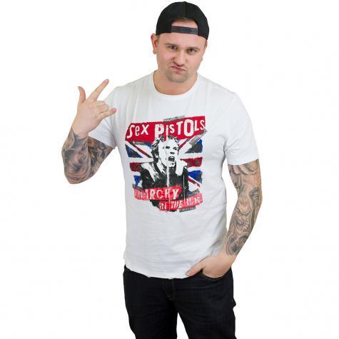 Amplified T-Shirt Sex Pistols Anarchie weiß