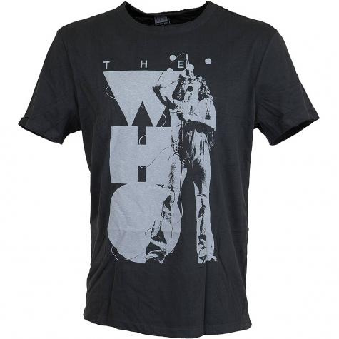 Ampilfied T-Shirt The Who Roger singing dunkelgrau