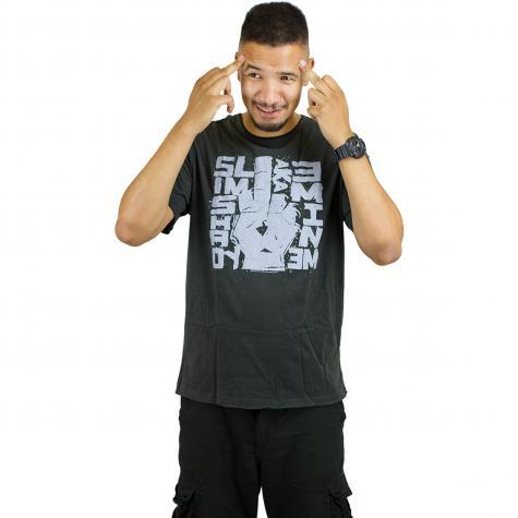 Amplified T-Shirt Eminem Slim Shady charcoal