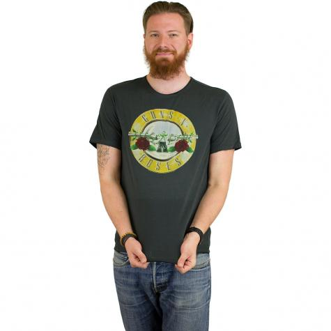 Amplified T-Shirt Guns`n`Roses Drum dunkelgrau