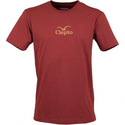 Cleptomanicx T-Shirt C.I. rot