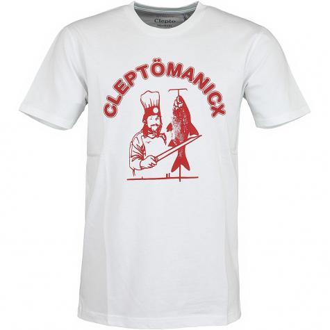 Cleptomanicx T-Shirt Dönicx weiß