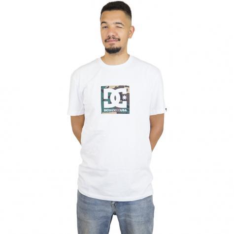 DC Shoes T-Shirt Camo Boxing weiß