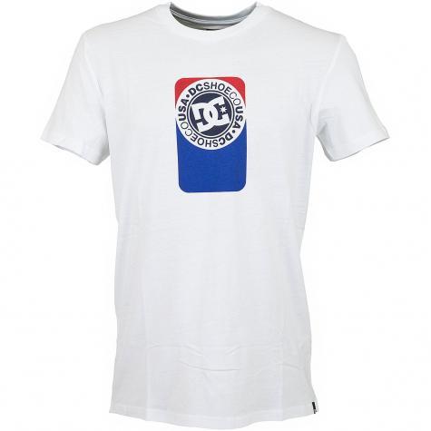 DC Shoes T-Shirt Petrol snow weiß