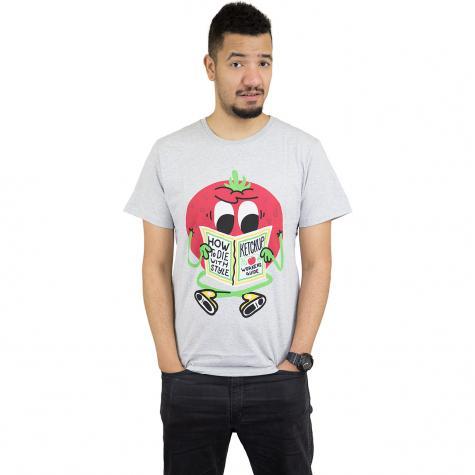 Dedicated T-Shirt Ketchup Guide grau