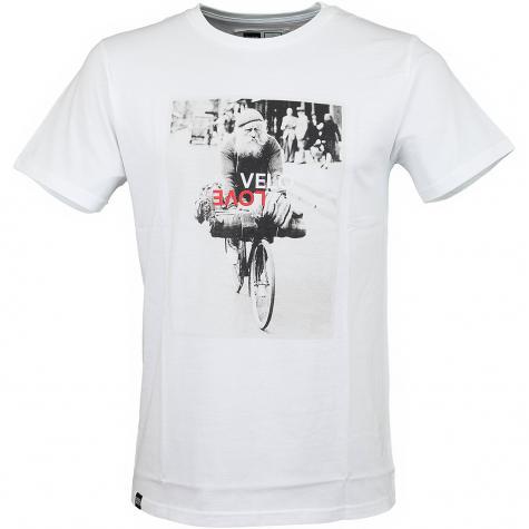 Dedicated T-Shirt Velo Love weiß