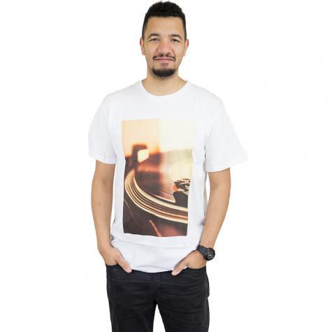 Dedicated T-Shirt Vintage Player weiß