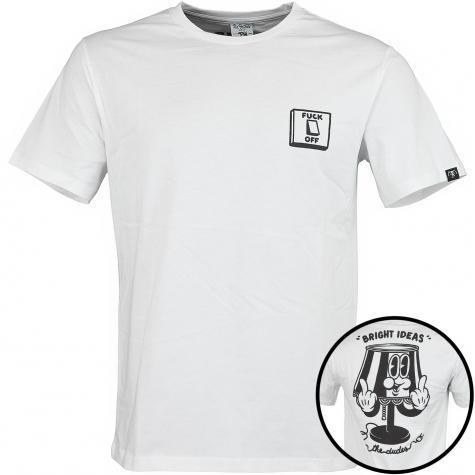 The Dudes T-Shirt Switch weiß