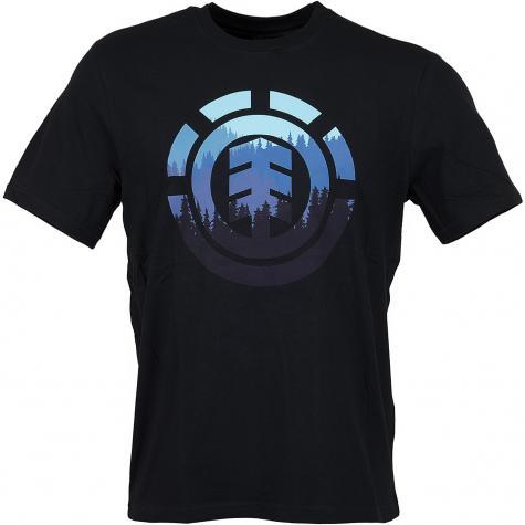 Element T-Shirt Glimpse Icon flint schwarz