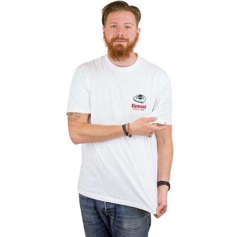 Element T-Shirt Hatch weiß