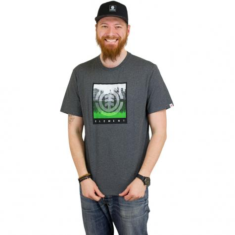 Element T-Shirt Reflections dunkelgrau