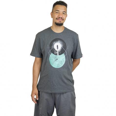 Element T-Shirt Ripples dunkelgrau