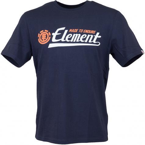 Element T-Shirt Signature navy