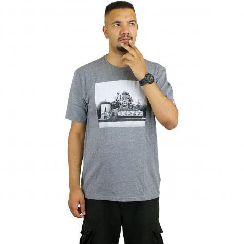 Element T-Shirt Stein grau meliert