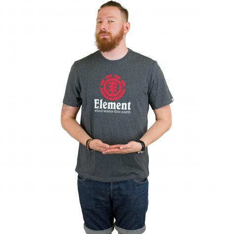 Element T-Shirt Vertical dunkelgrau