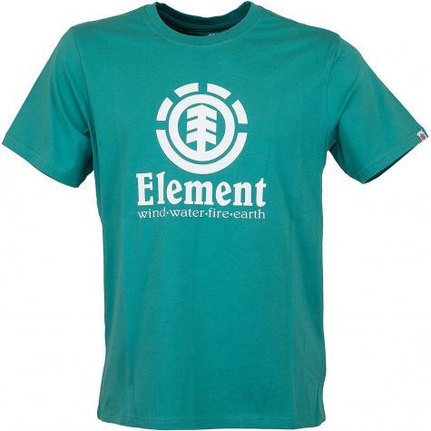 Element T-Shirt Vertical grün