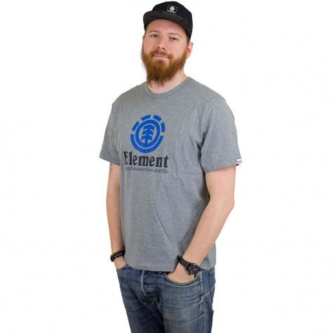 Element T-Shirt Vertical grau