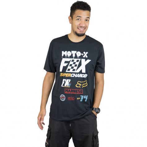 Fox Head T-Shirt Czar schwarz