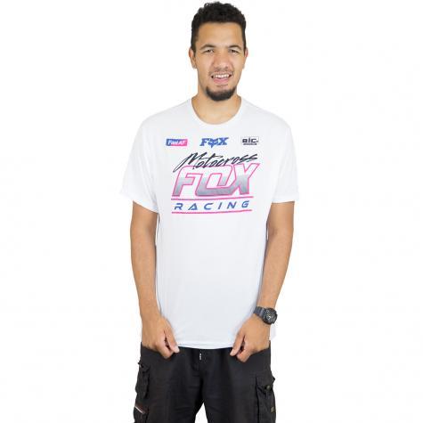 Fox T-Shirt Jetskee Tech weiß