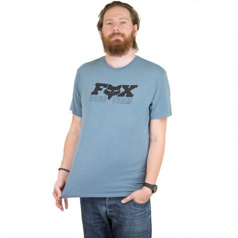 Fox Head T-Shirt Race Team blau