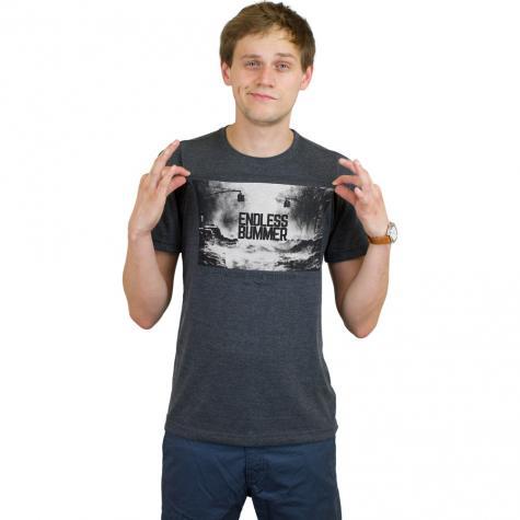 Iriedaily T-Shirt Endless Bummer anthrazit