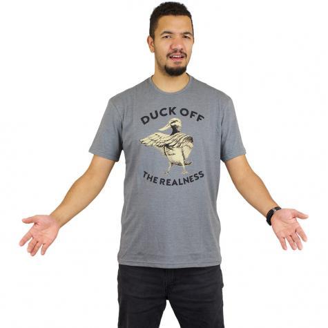 Iriedaily T-Shirt Duck Off dunkelgrau