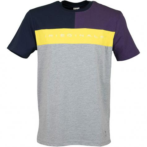 Iriedaily T-Shirt Irieginals Block grau
