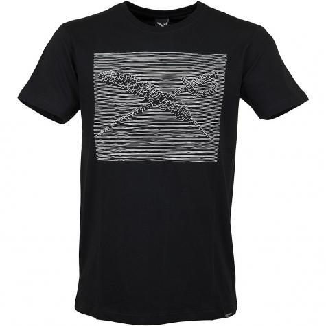 Iriedaily T-Shirt Irievision schwarz