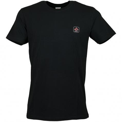 Iriedaily T-Shirt Mini Glyph schwarz