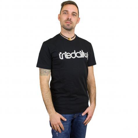 Iriedaily T-Shirt No Matter 4 schwarz/weiß