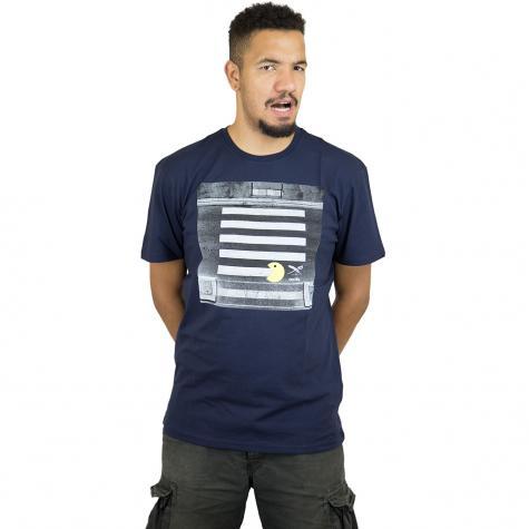 Iriedaily T-Shirt Street Pac dunkelblau
