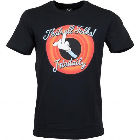 Iriedaily T-Shirt Thats All schwarz